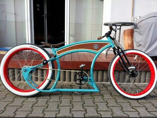 belle photo de beach cruiser velo custom 01 les plus beaux v los en photo. Black Bedroom Furniture Sets. Home Design Ideas