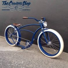 belle photo de beach cruiser velo custom 57