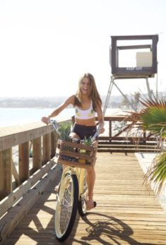 belle photo de beach cruiser velo custom 67
